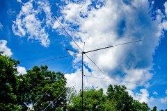 Cobweb antenna at the SSB Digital station