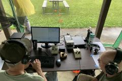 Roger, KF9D and Harold, W9HB racking up the CW QSOs