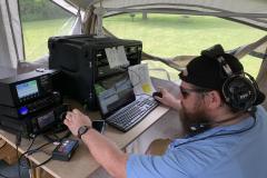 Mike, KD9DLL working SSB