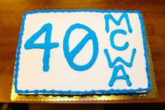 Happy 40th anniversary MCWA!
